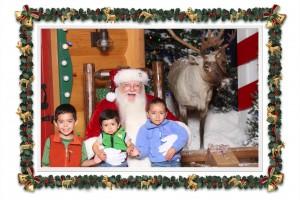 Kids Santa Pic 2012