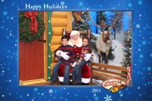 kids santa pic 2013