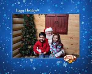 kids santa pics 2011